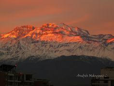 Cordillera de los Andes,Chile.
