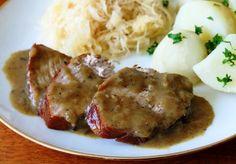 Как приготовить свинину в горчице по-немецки