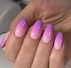 Ombre nails step-by-step tutorial, tips for the perfect ombre nail designs, coral ombre. How long do the ombre nails last, how and where can they be removed, ho Pink Summer Nails, Pink Ombre Nails, Spring Nails, Umbre Nails, Ombre Nail Colors, Summer Nails 2018, Cute Acrylic Nails, Cute Nails, Pretty Nails