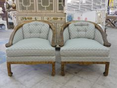 Hollywood Regency Ming Style Chairs