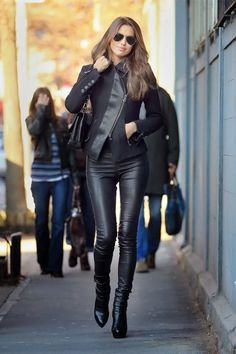 World of Women Fashion: Shoes,Trousers,Handbag,Jacket - All Leather