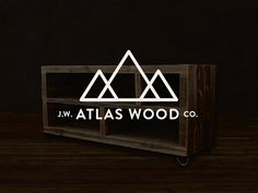 atlas wood co. designed by Rick VanderLeek. Connect with them on Dribbble; the global community for designers and creative professionals. Accounting Logo, Crossfit, Branding, Graphic Design, Logos, Inspiration, Home Decor, Biblical Inspiration, Brand Management