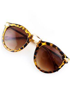 736d84a7b2 Mujeres Nuevos de verano 2015 Últimas Lentes Diseño de Moda Gafas Feminines  Beach Ronda Amarillo Leopard gafas de sol frescas