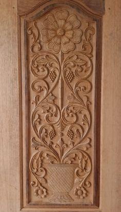 Interior Door Styles, Door Design Interior, Duplex House Design, House Design Photos, Wooden Door Hangers, Wooden Doors, Single Main Door Designs, Lowes Wood, Partition Door