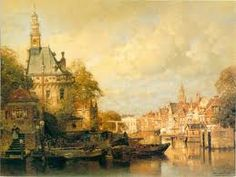 Johannes Christiaan Karel Klinkenberg Art Gallery, Classic Art, City Painting, Art Painting, Landscape Paintings, Dutch Painters, Painting, Landscape Art, Beautiful Art