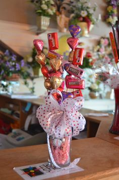 Valentines Day Candy Bouquet Chocolate Girft for Him or Her | eBay