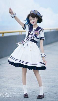 Harajuku Fashion, Kawaii Fashion, Lolita Fashion, Cute Fashion, Asian Fashion, Fashion Outfits, Rock Fashion, Fashion Boots, Mode Lolita