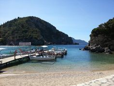 Nice bay at Paleokastridza