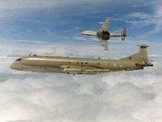 RAF type Nimrod R1 maritime patrol aircraft
