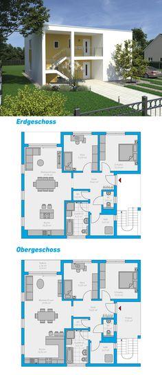 Berger Massivhaus atrium 4 bungalow einfamilienhaus neubau massivbau stein auf stein