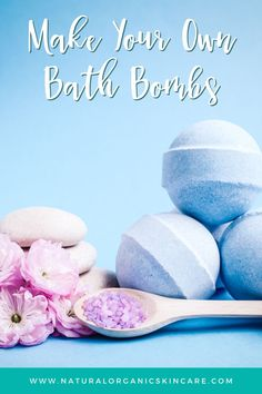 If you love taking baths as a form of self care to relax and unwind, you will love this bath bomb recipe. It's super easy to make your own amazing bath bombs at home using this skincare recipe! #skincarerecipes #bathbombs #bathbombrecipe #diybeauty #skincaretips