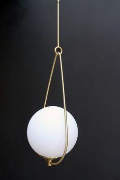 Globe Pearl Drop Ceiling Light from rockettsgeorge.co.uk