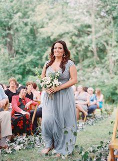Lovely bridesmaid dress idea; photo: Cassidy Carson Photography