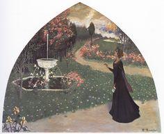 All sizes | Santiago Rusiñol | Alegoría de la poesía, 1895