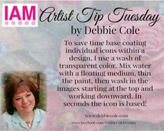 Interactive Artist Magazine Artist Tip Tuesday by amazing artist Debbie Cole! Subscribe today ~ Creative Inspiration 24/7 http://InteractiveArtistMagazine.org