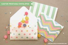 {free printables} Easter Treat Envelopes