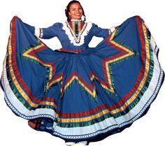 vestidos reginales de jalisco | TRAJES TIPICOS DE JALISCO