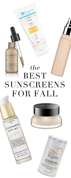 The Best Sunscreens for Fall