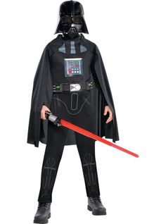Boys Darth Vader Costume Classic - Star Wars - Party City