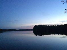 Summer night in Kuopio, Finland