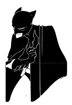 Batman by Meredith McClaren