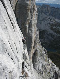 Klettersteig Sulzfluh