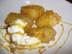 BANANA FRITTERS Kosher Lunches, Banana Fritters, Macaroon Cookies, Dessert Salads, South African Recipes, Coconut Macaroons, Breakfast Cake, Toasted Coconut, Food Lists