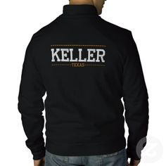 Keller Texas USA Embroidered Jackets