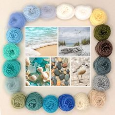 Weave the World - Ocean - Weaving Kit - The Creativity Patch Weaving Tools, Weaving Projects, Loom Weaving, Tapestry Weaving, Hand Weaving, Fabric Weaving, Brown Sheep Yarn, Fibre And Fabric, Woodworking Books