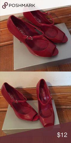 Aldo Shoes Good Condition                                                                Smoke Free Pet Free Home Aldo Shoes Heels