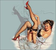 i have a pin up obsession