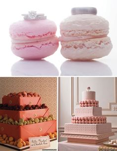 Macarons - Cake  Wedding