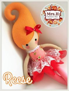 """From my Kandi range which are a whooping 23"""" tall, wearing a pretty tutu layered with embroidered lace.They are CE marked and suitable from birth although actually bigger than the average newborn Reese is doll no.2014/123"""