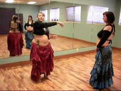 ▶ Tribal Moon Belly Dance ATS(R) Drills and Skills - Turkish Passes - YouTube