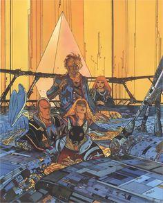 Jean Giraud a. Jean Giraud Moebius, Moebius Art, Manado, Jodorowsky's Dune, Jordi Bernet, Bristol Board, Writing Art, Science Fiction Art, Alejandro Jodorowsky