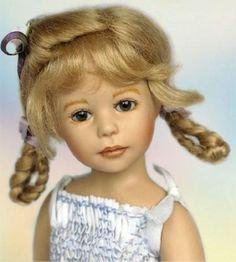 ".Doll Artist HEIDI PLUSCZOK ""Babette"" 9"""