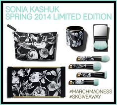 Sonia Kashuk Spring Collection.... Only found at target! I have the brush set, my fav brush is in it, the flat top, had to have this set. It is $25 for 4 brushes, the flat top alone would be $16...absolute great buy, and must have