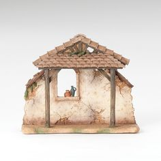 Fontanini 9 Resin Stable For 5 Scale Nativity