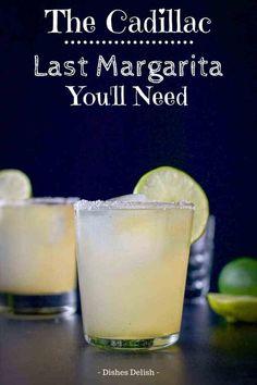 Margarita Recipe Cointreau, Patron Margarita Recipe, Ultimate Margarita Recipe, Tequila Recipe, Margarita Recipes, Margarita Cocktail, Margarita Mix, Sweet And Sour Margarita Recipe, Best Cadillac Margarita Recipe