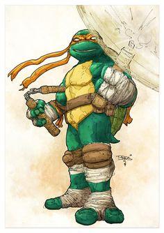 Classic Michelangelo by T-RexJones on deviantART