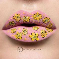 Dans la lignée desmaquillages créatifs de Tal Peleg, voici aujourd'hui les créations de Lip Artde la maquilleuse canadienneAndrea Reed, aka Girl Grey B
