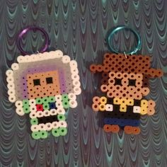 Buzz and Woody - Toy Story perler beads by doucetcreations