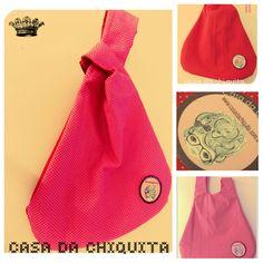 Casa da Chiquita: Bolsinha de mão hoje e sempre...