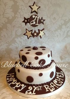 Chocolate Extravaganza Two Tier Cake