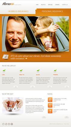 Orange Insurance Drupal Template - Drupal Themes - Ideas of Drupal Themes - Business Insurance Drupal Template www. Personal Insurance, Dead Ends, Website Design Services, Drupal, Website Template, Web Design, Templates, Business, Health