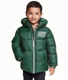 ce9cddfff Boys winter coats green