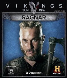 Travis Fimmel   -Ragnor of Vikings