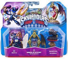 Skylanders Trap Team - Adventure Pack 2Il Pack contiene: - Deja Vu - Mirror of Mysery - Rocket Ram - Tiki Speaky
