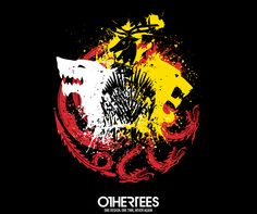 """""""Game of Colors"""" by Dr.Monekers T-shirts, Tank Tops, V-necks, Sweatshirts and Hoodies are on sale until March 12th at www.OtherTees.com #got #gameofthrones #othertees"""