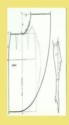54 Ideas Sewing Dress Patterns Dressmaking For 2019 Skirt Patterns Sewing, Clothing Patterns, Sewing Clothes, Diy Clothes, Pola Rok, Pattern Draping, Bra Pattern, Pattern Cutting, Fashion Sewing